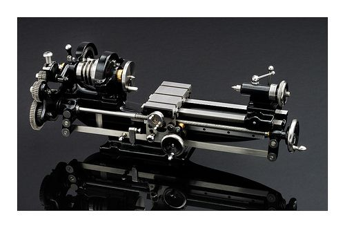 Model of Drummond Lathe | Flickr - Photo Sharing!