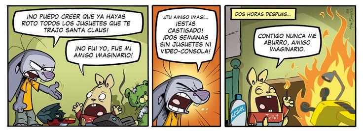 Comics: Conejo Frustrado 18