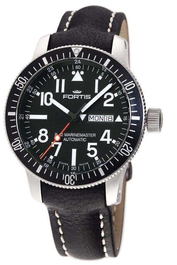 Men's watches Fortis 647.29.41 L.01 B-42 Official Cosmonauts Diver Day/Date Titanium Mens Automatic Watch men watches