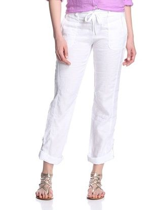51% OFF Marrakech Women's Kheda Roll-Up Pant (White)