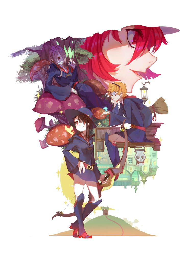 little witch academia | Tumblr