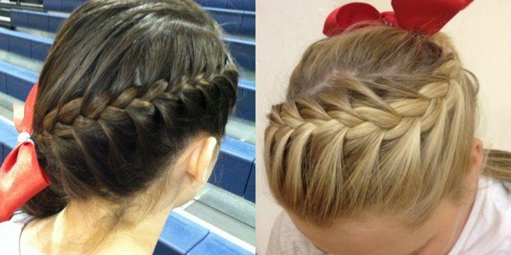 Cheerleader Hair Styles: Best 25+ Cute Cheer Hairstyles Ideas On Pinterest