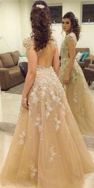 New Arrival Prom Dress,A-Line Prom Dress,O-Neck Prom Dress,Evening Dress