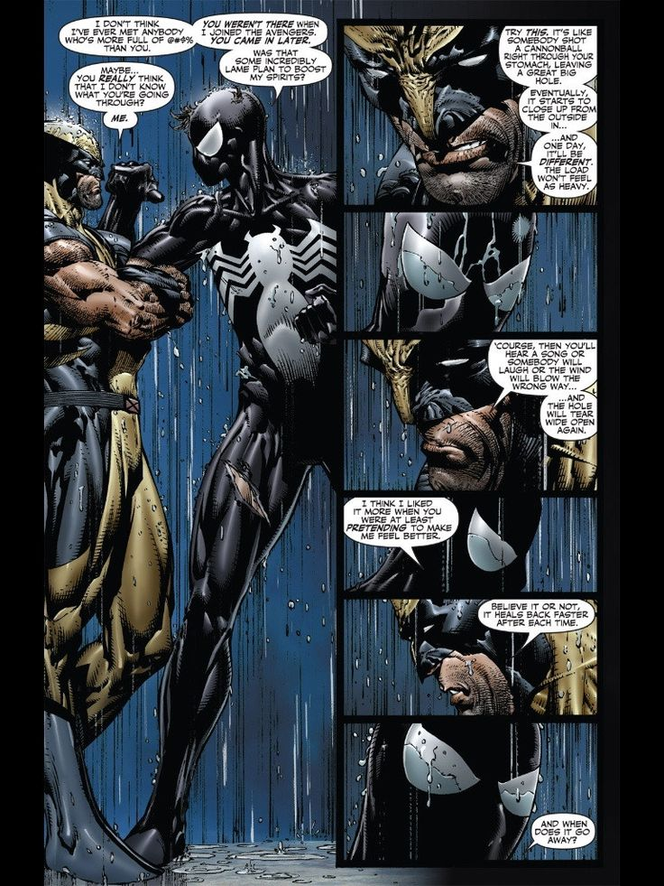 Fallen Son: The Death of Captain America #4  - Wolverine and Spider-Man by David Finch