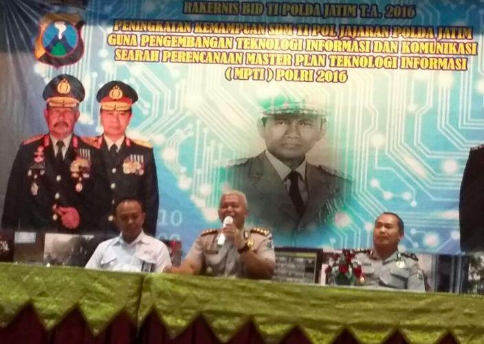 Rakernis Bidang Teknologi Informasi Polda Jawa Timur Dimulai Hari ini