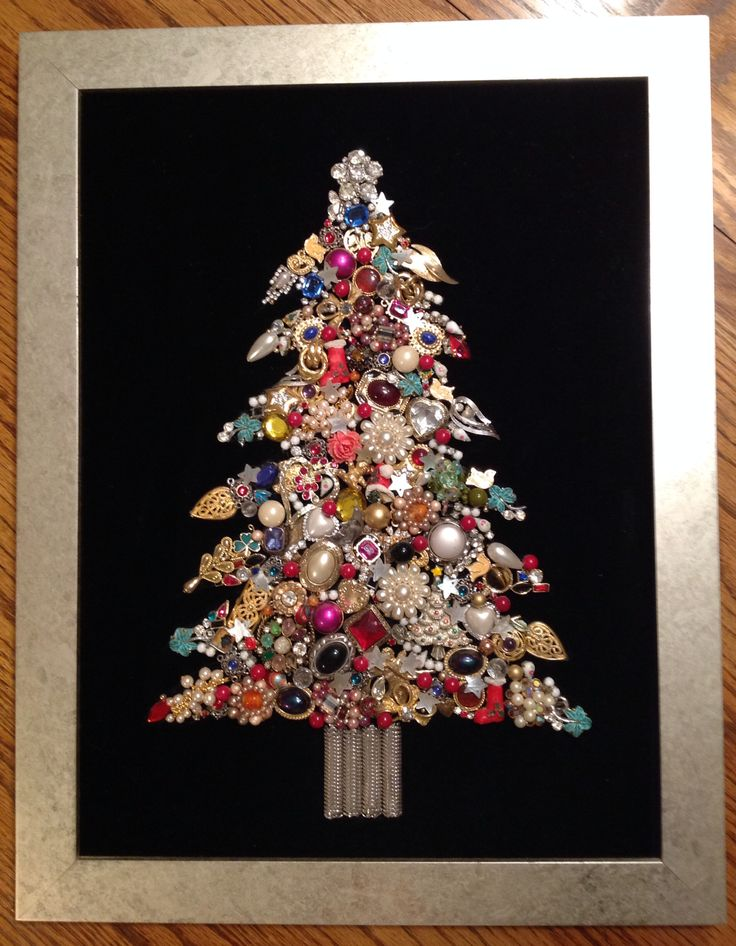 Mama's Jewelry Christmas Tree