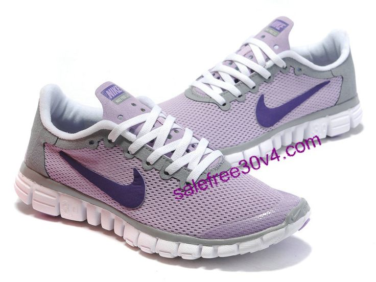 Nike Free 3.0 V2 Women White Grey Purple