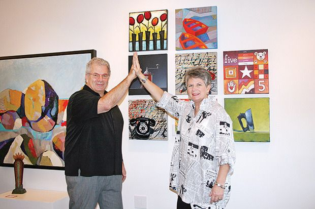 Red Art Gallery celebrates with High Five - five years in the making!