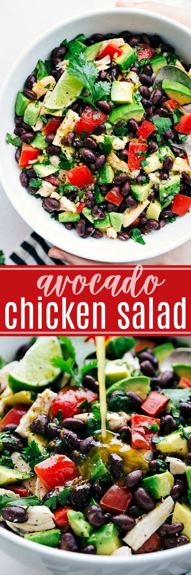 This Mexican flavor-inspired Avocado Chicken Salad is healthy and packed with delicious flavors! This avocado chicken salad is a bit unique, but we have been going crazy for it lately. It's so health