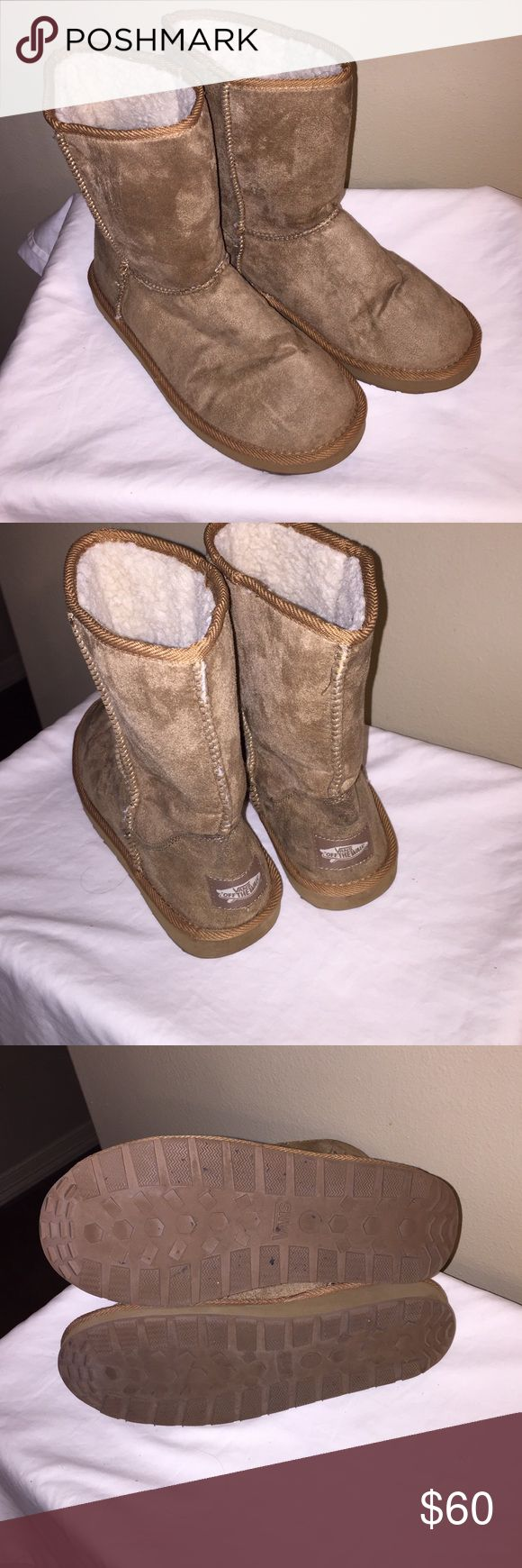 Vans Boots (size 8) Very nice Vans boots only used less than two times.  Boots excellent conditions.  no box Vans Shoes
