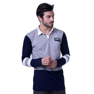 Kaos Polo Shirt / Wangky Lengan Panjang Pria Casual Harian [H 0053] (Brand HRCN) Original Bandung