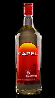 Pisco Capel... the perfect price/quality combination in Chilean Pisco =')