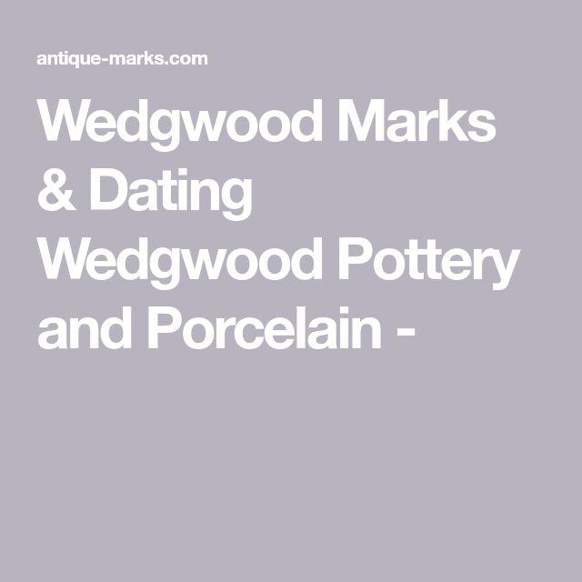 dating wedgwood marks