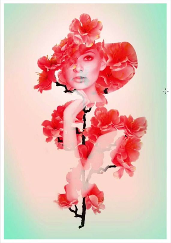 how to create an artistic double exposure effect in photoshop