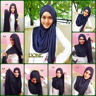 hijab tutorial pashmina - Google Search