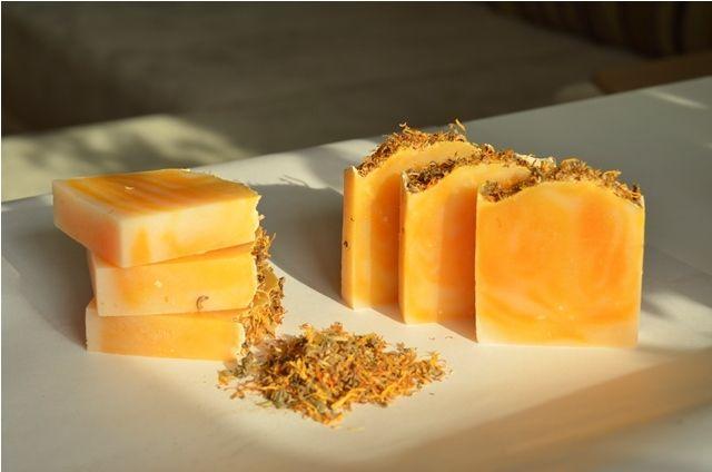 Мастер-класс: мыло «Солнечная календула» с нуля холодным способом