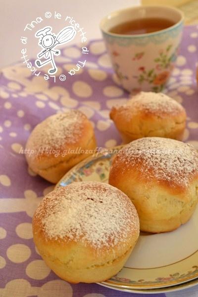 Brioschine morbidissime per colazione! Complimenti alla Cuoca!!!