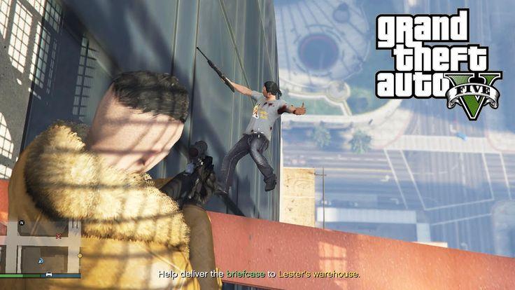 GTA 5 Online PC Lui Calibre and Daithi De Nogla Missions and Mayhem