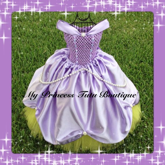 Sofiia the First tutu dress Sofia the by MyPrincessTutuBoutiq
