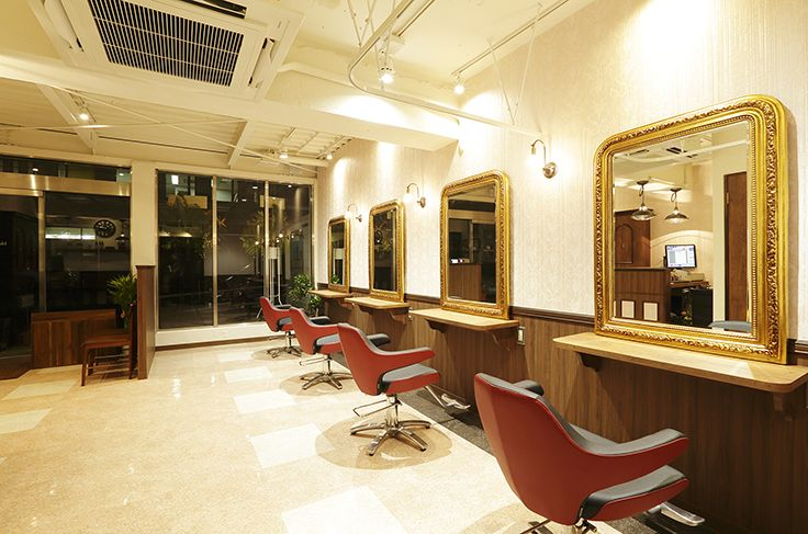 Blue eyed girl beauty salon interior design hairsalon for A salon named desire