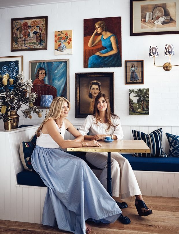 The owners of new Australian hotel Halcyon House, sisters Siobhan and Elisha Bickle - Vogue Living