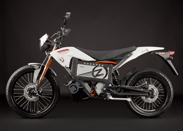 The electric urban motorcycle - the Zero XU