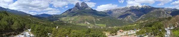 Senderismo en el Pirineo Catalán. Camping Repos del Pedraforca