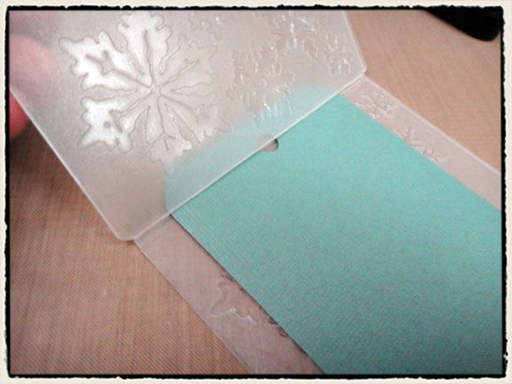 Cutting embossing folders to use for letterpress technique - Tim Holtz