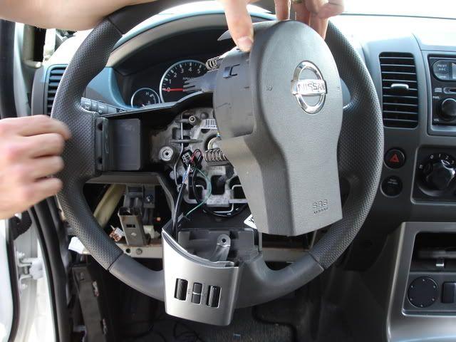 How to install steering wheel controls - Nissan Frontier / Navara Forum