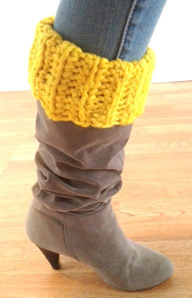 If the Sun Could Crochet - Free Boot Topper Pattern
