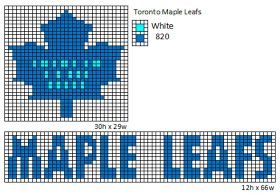 NHL logos for blankets, scarves sweaters etc!