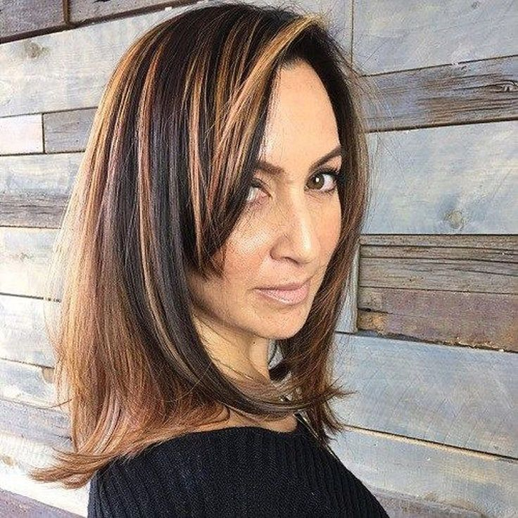 57 Inspiring Long Hairstyle Ideas for Women Over 40s