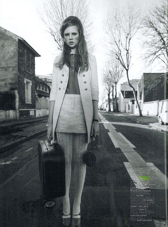 Best Editorials - Blugirl Spring Summer 2014 • Jalouse, France - March 2014