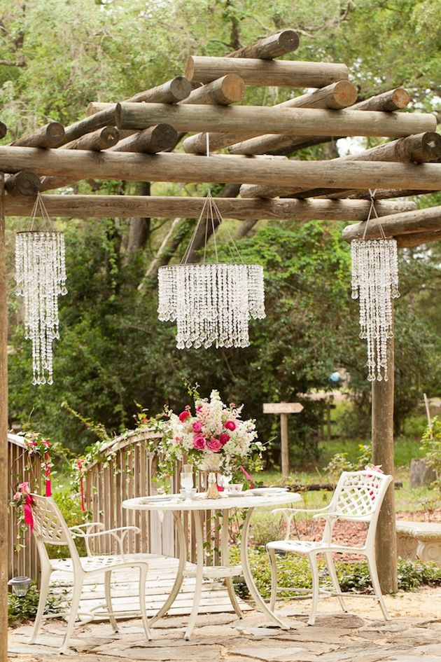 Whimsical Garden Wedding Inspiration Shoot Gardens