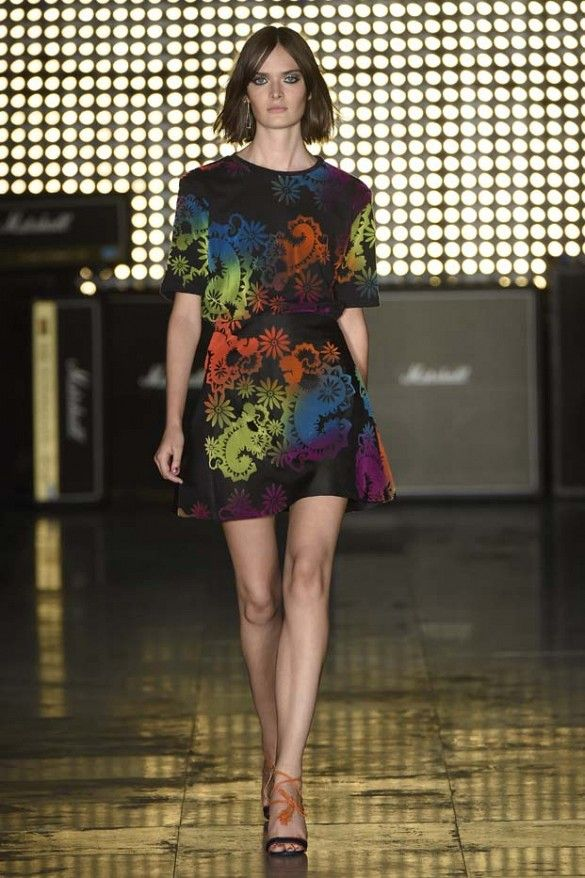 House of Holland Spring 2015 // #LFW #SS15 #Runway #RTW