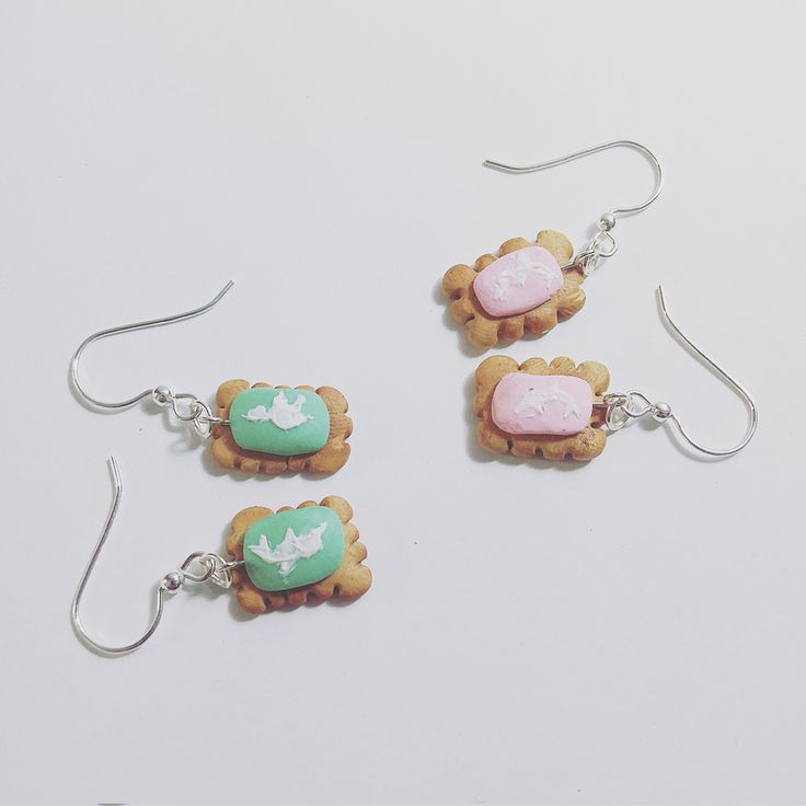 Zoo Biscuit Earrings available in our online store now!  www.thelittlestcuttlefish.co.za