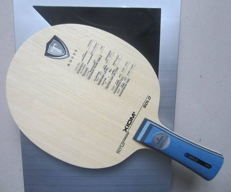 Original XIom SOLO table tennis blade pure wood racquet sports indoor sports xiom table tennis rackets racquet sports pingpong