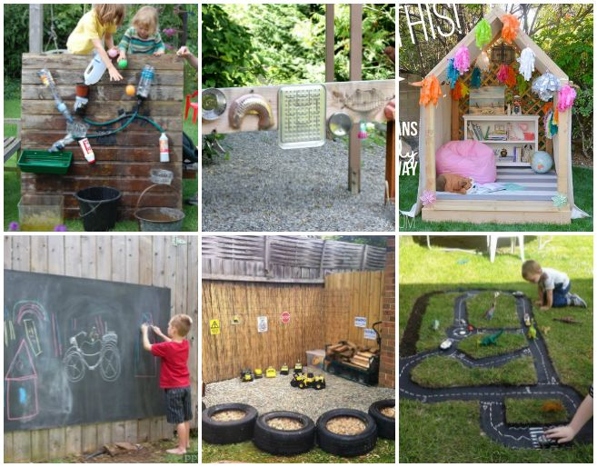 Outdoor Play Spaces For Kids