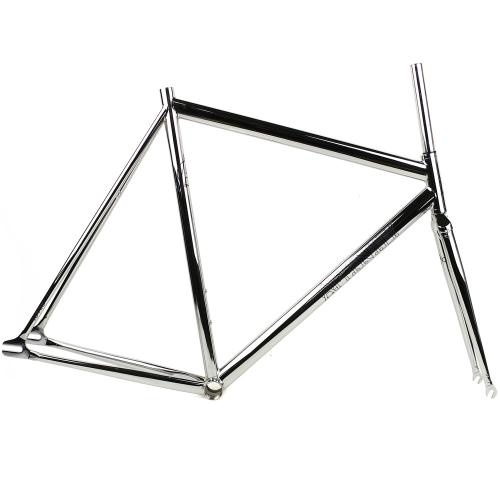 Affinity Cycles Lo Pro Track Frame Chrome Plated Oowop Pista Co Fixed Gear