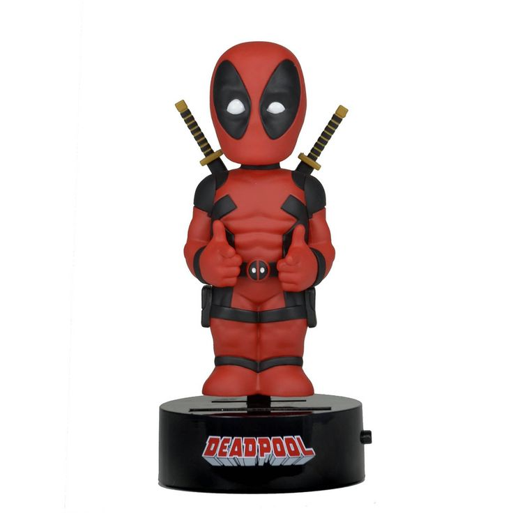 NECA Marvel Body Knocker Deadpool Figure