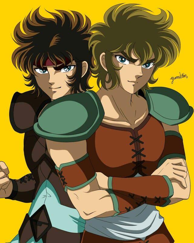 Aioros and Aioria