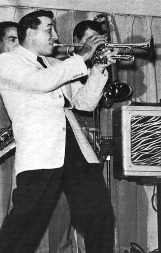Louis Prima - versatile and wildly entertaining NOLA singer, composer and trumpeter. A swing musician at heart, he branched out into Dixieland, boogie woogie and r&b.