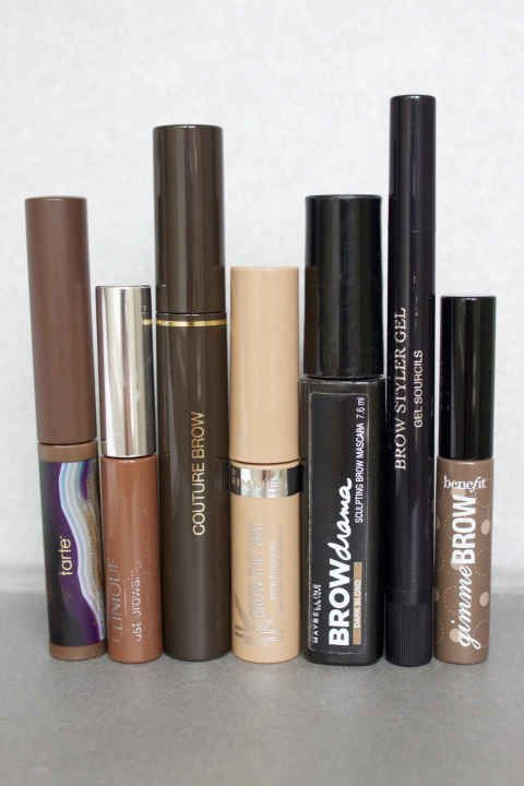Brow mascaras review + how to