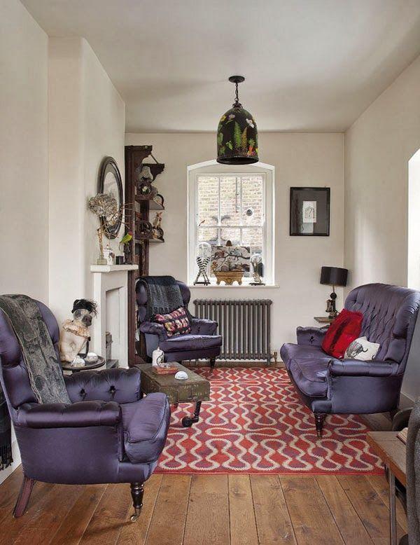 VINTAGE & CHIC: decoración vintage para tu casa · vintage home decor: La casa de un artista en Londres · An artist home in London