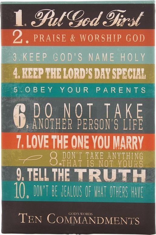 Best   Commandments Ideas On   Ten Commandments