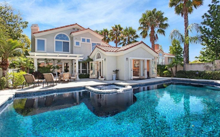 House Pools mansions   swimming pool, villa, house, mansion - inspiring