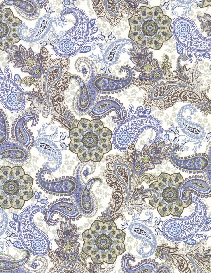 Blue and Brown Paisley by FredtheCow-Stock on deviantART