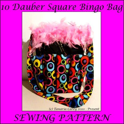 Free Bingo 10 Dauber Bag Sewing Pattern Sewing