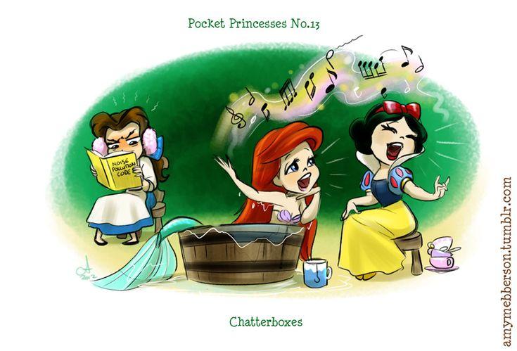Funny Disney Pocket PrincessesComicsFunny Disney, Snowwhite, Pocketprincess, Disney Princesses, Princesses 13, Belle, Pocket Princesses, Comics, Snow White