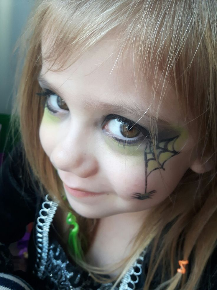 Toddler Girl Witch Costumes: Witch Makeup For Little Girl